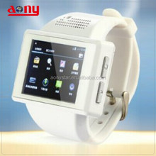 Best wrist watch cell phone big screen low cost made in china