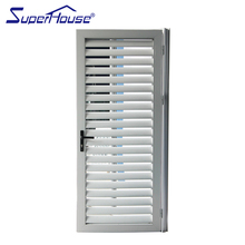New zealand safety jalousie aluminium glass windows shutters with AS2047