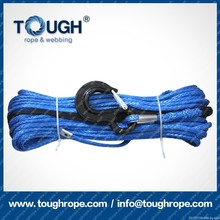 "Blue1/2""*50ft Main synthetic winch rope line Reach international testing standard"