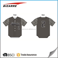 Custom sublimated print camo baseball jerseys