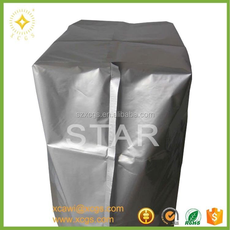 Aluminum Foil Bag self adhesive open zip lock bags with electronic packaging