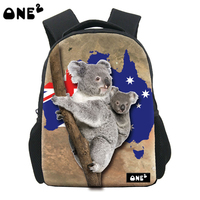 ONE2 new style cheap 2016 cute Koala school bag for kids