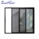 Superhouse aluminium partition door cheap aluminum glass bedroom doors with AS2047