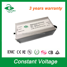 constant voltage waterproof IP67 SAA certificate 3 years warranty led transformer 24v 60w rainproof led power supply