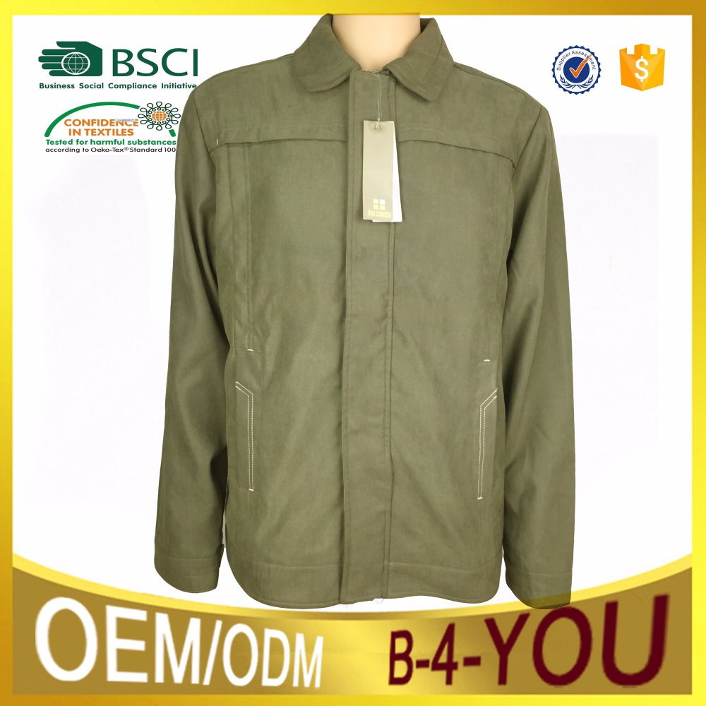 New designed mens clothing fabric custom bomber jackets wholesaleworkwear jacket winter apparel supplier