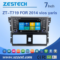 2 din touch screen car dvd gps navigation system for toyota yaris 2014 2015 2016 car dvd player gps with 3G BT