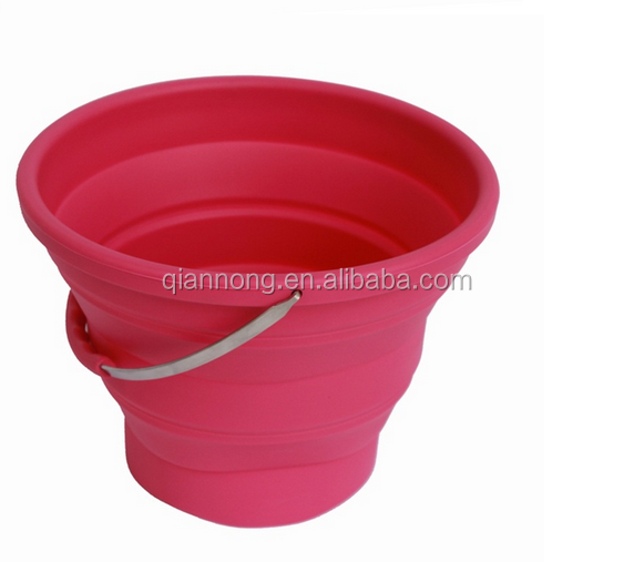 food grade silicone collapsible bucket
