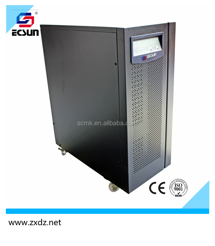 10 kva / 8kw high frequency online industrial ups power for computer or personal
