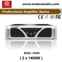RMX-5000 extreme power amplifier professional anology amplifier output 2x1400W class H subwoofer power amplifier