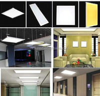 Top Quality Aluminium Die Casting Housing hIGH Power 18w Round or Square Led Panel Light
