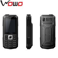 2.4 inch CDMA GSM Triple SIM Card Mobiel Phone GSM900/DCS1800MHZ CDMA800MHZ Mobile Phone with 4000Mah Battery GC16