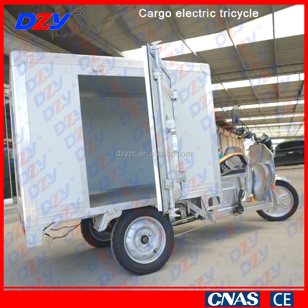 Hot selling China cargo electric tricycle adults for express delivery