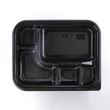 SM3-1101 Meal Prep Containers 5 Compartment Lunch Boxes Food Storage Containers with Lids Plastic Bento Box