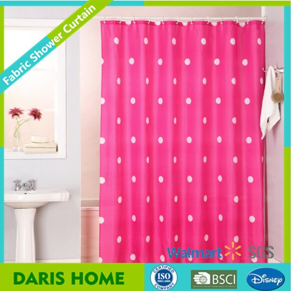 Pattern Design Textile Single Swag Shower Curtain Full Print, Bath Shower Windows Curtain