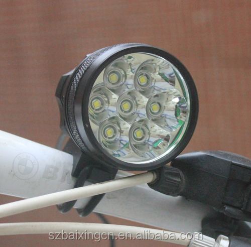 9800LM 7x CREE XML XM-L <strong>U2</strong> <strong>LED</strong> Cycling Bicycle bmx <strong>led</strong> light