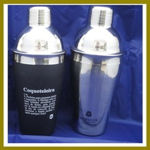 Stainless Steel Traditional 18oz Cocktail Drink Shaker, 304 SUS Cocktail Shaker, Includes Shaker and Cap
