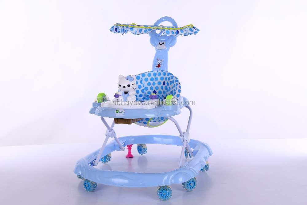 new design baby walkers low price baby carrier 8 wheels plastic baby walker
