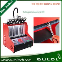 Ultrasonic Fuel Injector Cleaning Machine CNC600 best quality fuel injector test equipment cnc600