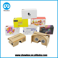 2016 Best selling Factory Directly High Quality VR 3D Glasses Real Virtual Google Cardboard