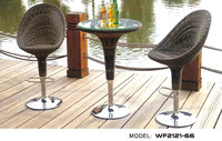 Outdoor furniture garden sets rattan bar stools