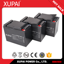 XUPAI Electric Vehicles 12V 45AH Battery 6-EVF-45 Batteries