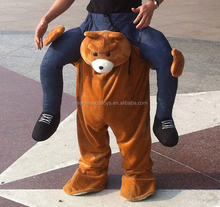 ride on teddy bear costume for adult bear costume