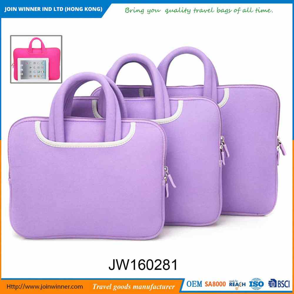 Factory Direct Sale Ultra Thin Laptop Bag With Iso9001 Certificates