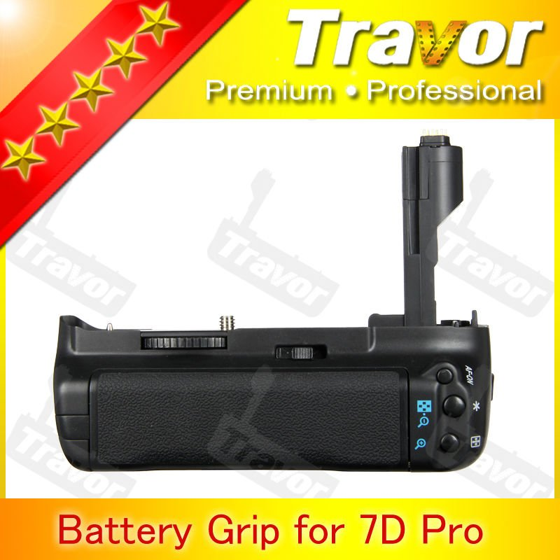 Travor Brand Replacement BG-E7 for canon 7d digital camera hand grip for studio camera