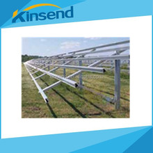 Ground solar mounting system frame