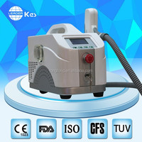 MINI Laser Tattoo Removal Equipment Prices With Q Switch Nd Yag Laser