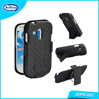 For S3 mini weave pattern slim armor belt clip case
