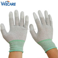 Anti Static PU Finger Protection Antistatic Assembly Inspection Precision Work ESD Safe Gloves