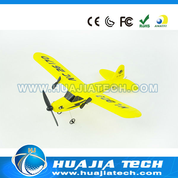 2013 New product RC glider balsa wood model airplane kits HL803