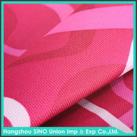 600d pvc coated polyester oxford cloth fabric
