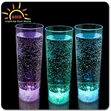 party favors Led Light Drinking Glass, wedding mugs with logo, plastic mug like glass