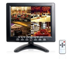 4 channel BNC quad video monitor