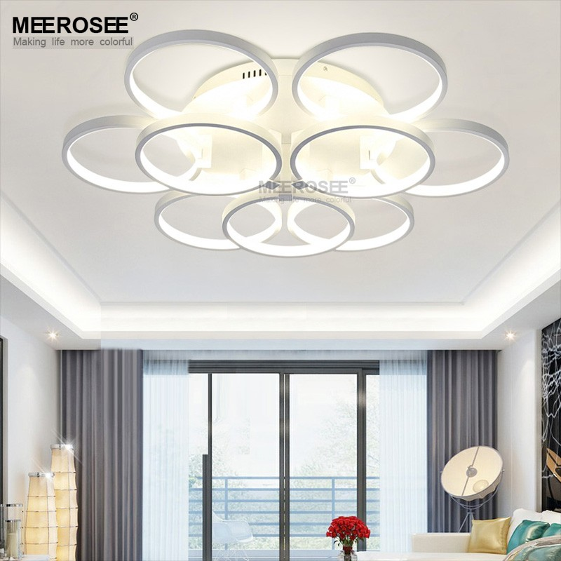 Modern Ceiling Lights Living Room Flush Mount Cieling Lights Chandelier in Europe Design MD83062 L9