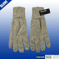 Mens wool knitted hipora thinsulate winter gloves