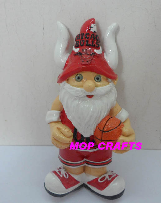 #MC1297-Polyresin customized sports christmas decoration