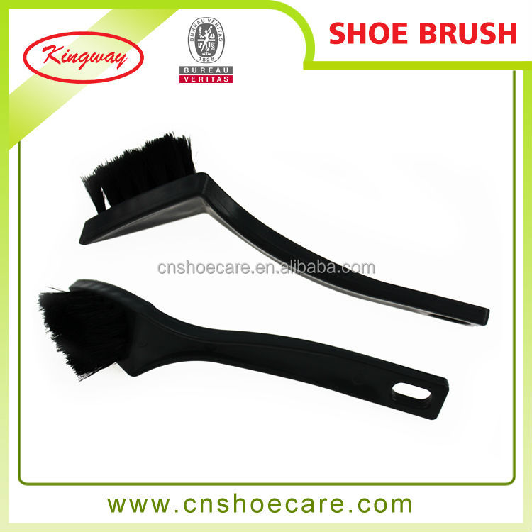 1pcs professional handle nylon hair cleaning shoe brush