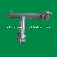 agri-lock ball and socket joint with lock-ringscrewed T type coupling