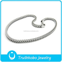 L-N0045 European Style 6MM Men's Stainless Steel Multi Link chain Necklace