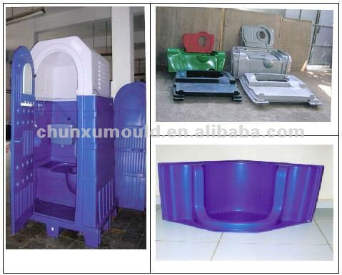 rotational moulding portable toilet