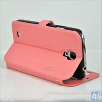 2014 Wholesale Leather Wallet Holster Case for Samsung Galaxy S4 I9500 Leather Case P-SAMI9500CASE173