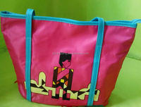 ployster bag/ shoes and bags to match/ promotion polyester shopping bag