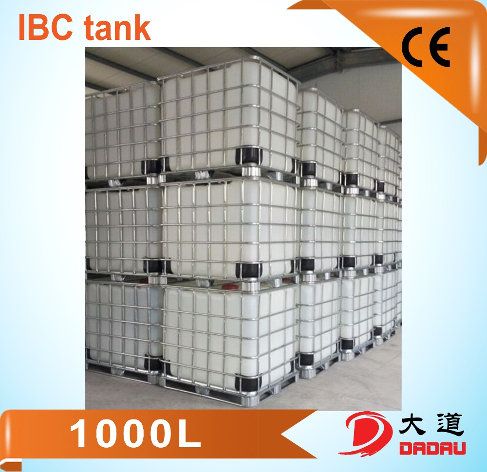 chemical transportation containers plastic disposable ibc tote bin 1000L and 1250L