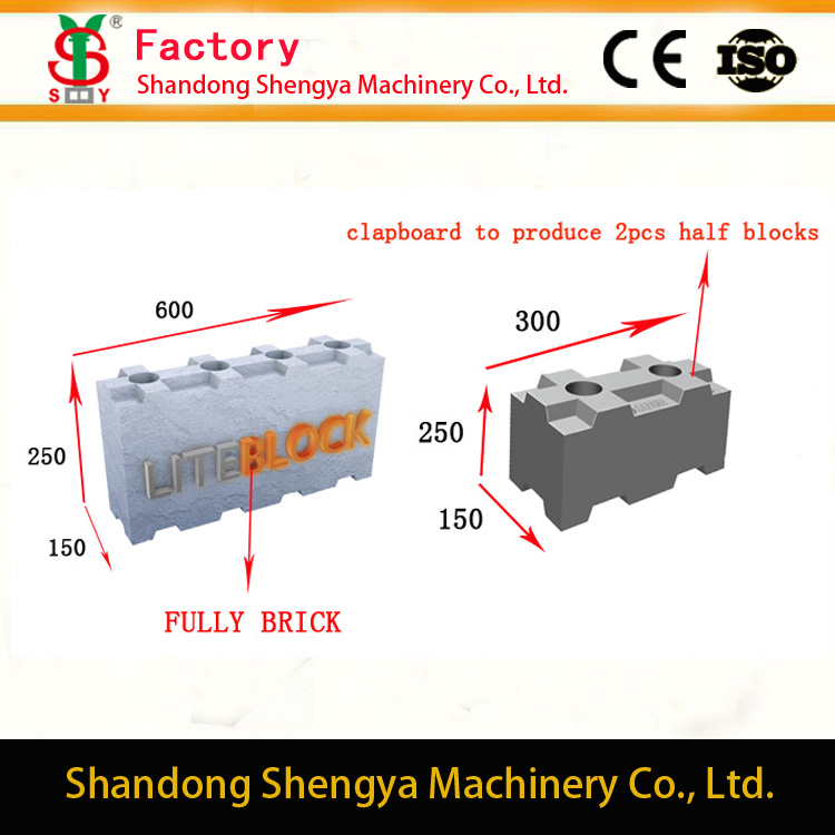 Eco-lite blok,cellular lightweight concrete block making machines (Pan Pacific Timber Pty Ltd)