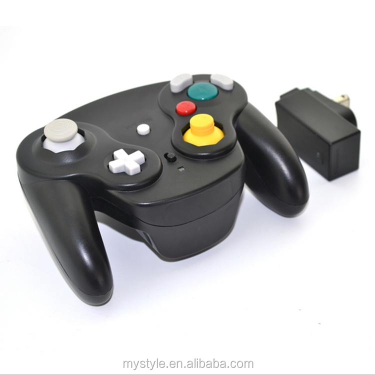 Classic 2.4G wireless Gamepad Controller for Nintendo Retro Gamecube GC NGC Wii Console