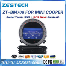 ZESTECH Mini Cooper special car dvd player with radio gps navi