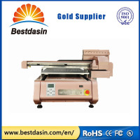 small uv printer cd duplication machine 2880dpi DX5 uv printer 8 Colors uv flatbed printer price